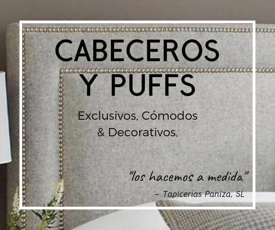 VENTA CABECEROS Y PFFS : PRODUCTOS & SERVICIOS de Paniza Tapicerías