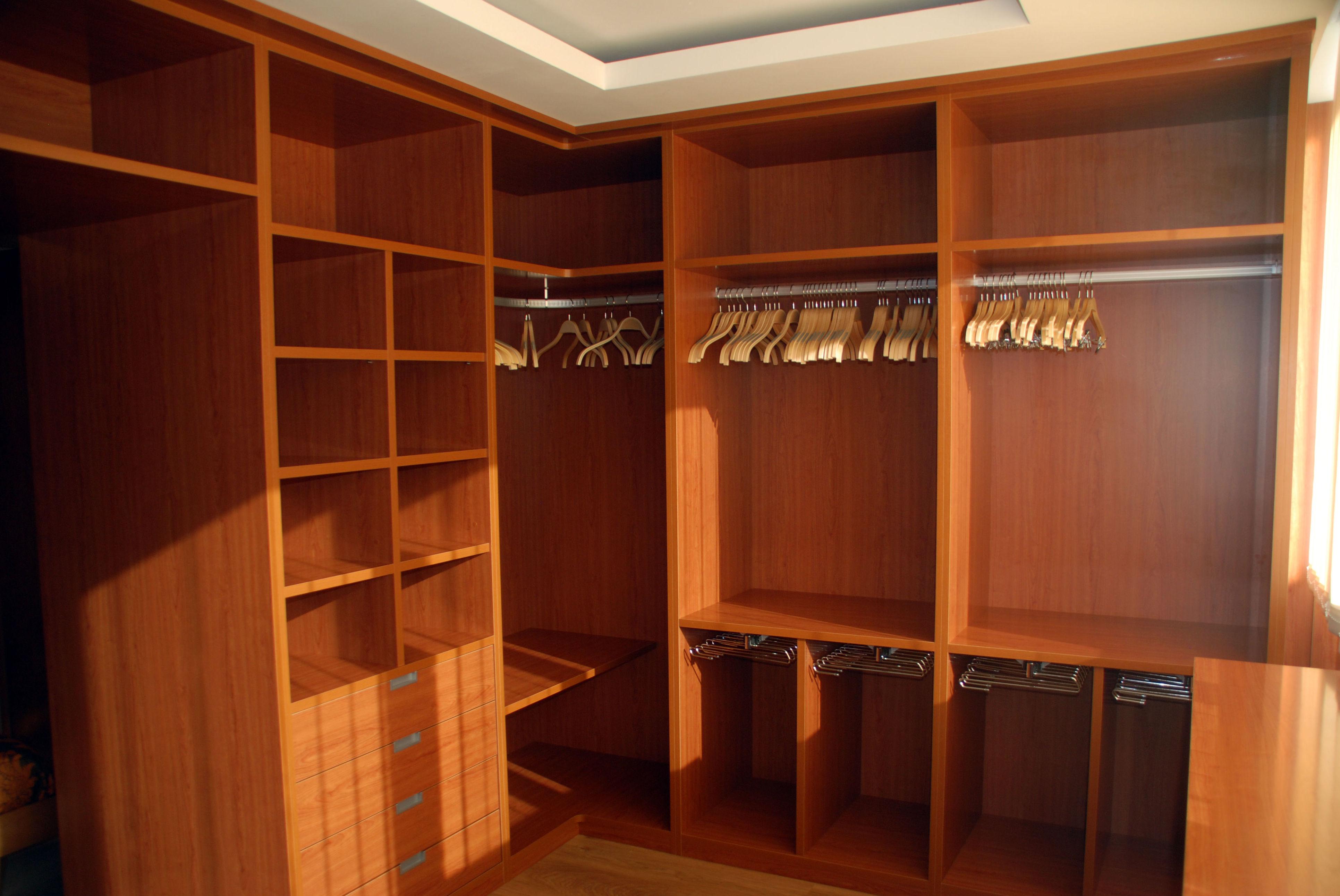 Interiores de armario