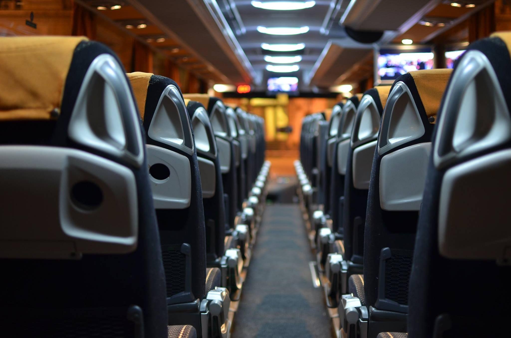 Flota de autobuses equipada con la última tecnología