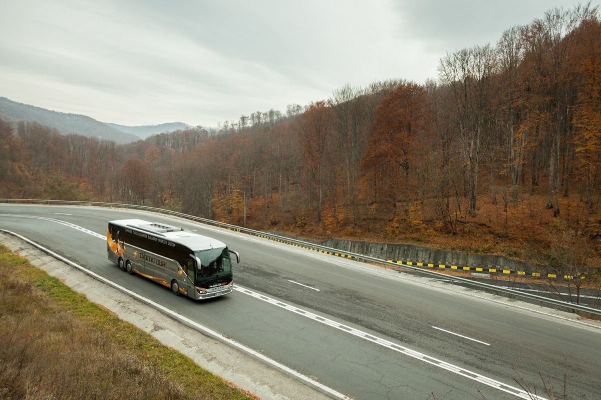 Autobuses, viajes a Rumanía.