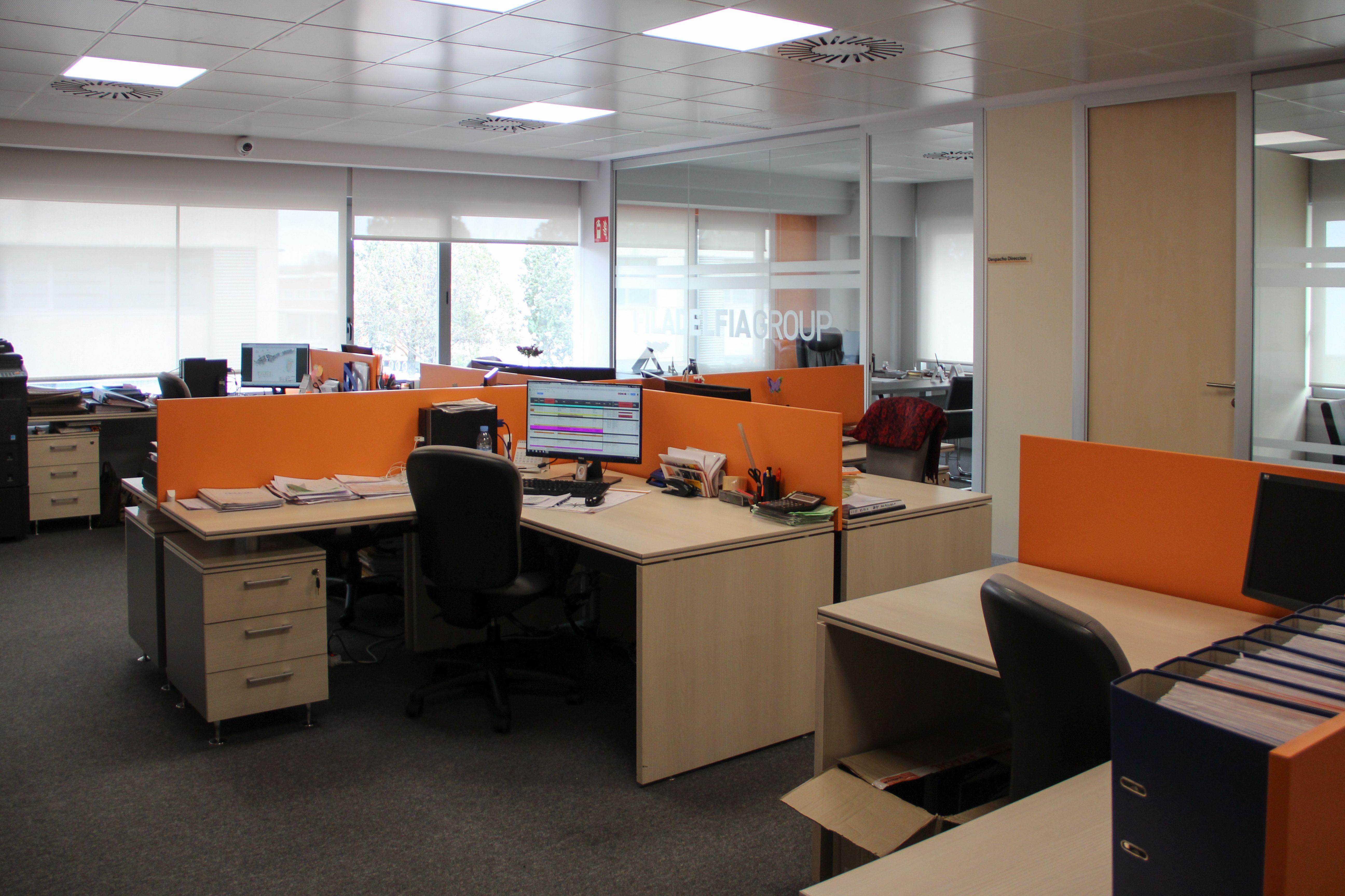 Interior de nuestras oficinas en Madrid