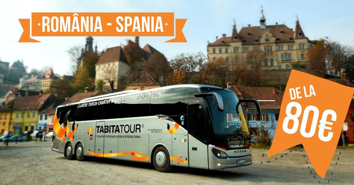 Autobuses Rumanía al mejor precio