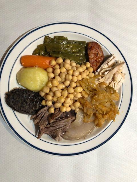 Platos españoles, cocido