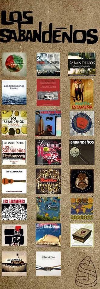 CD LOS SABANDEÑOS: Productos  de La Clave Musical