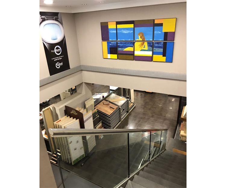 Interior de la empresa