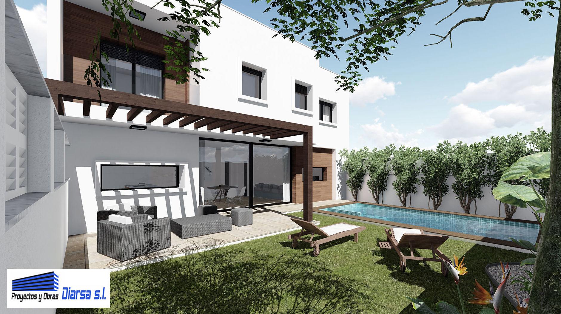 Foto 1 de Construcciones y obras en Parla | Proyectos y Obras Diarsa