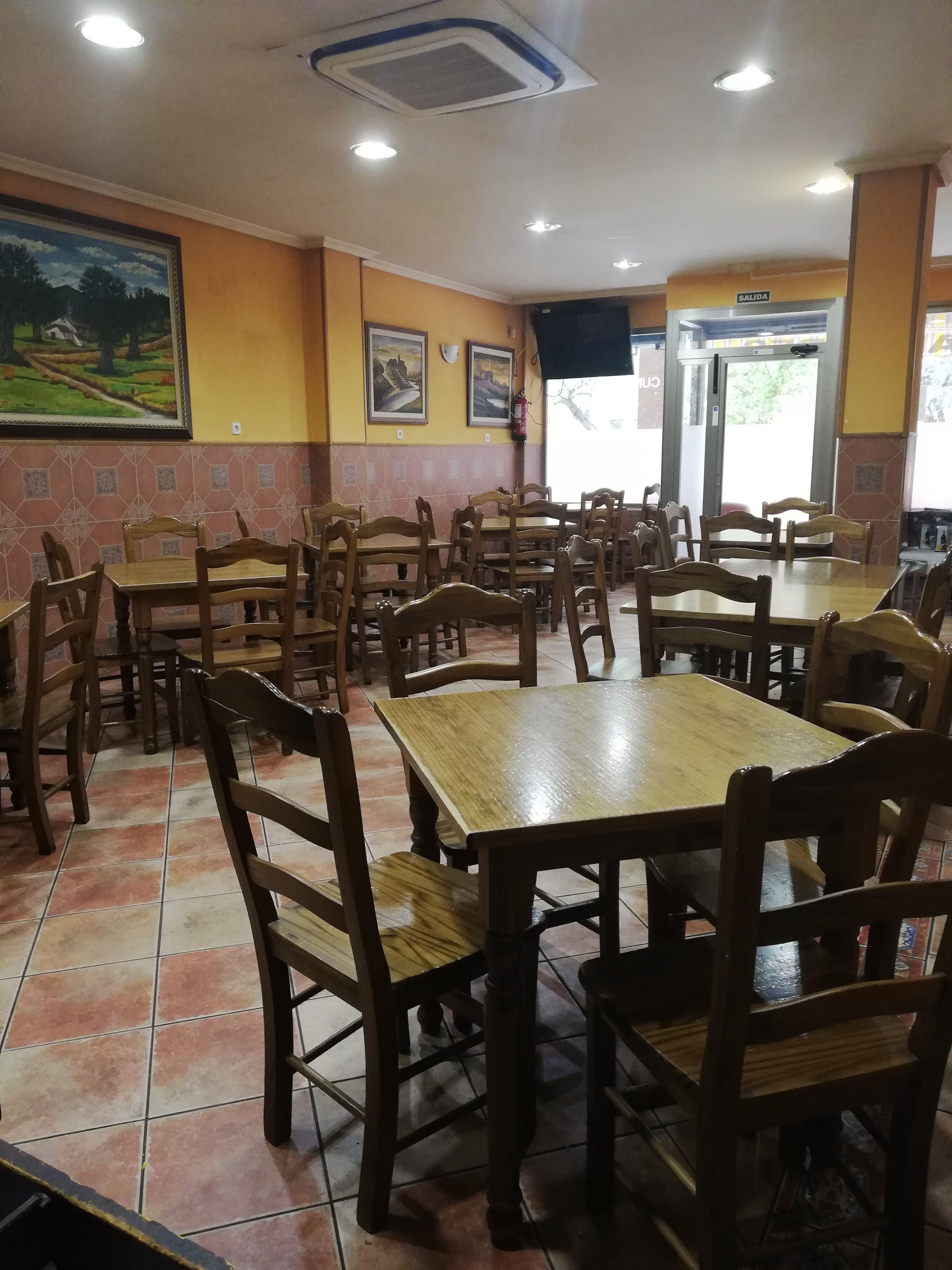 Comedor de Restaurante Sanabrés en Guadalajar