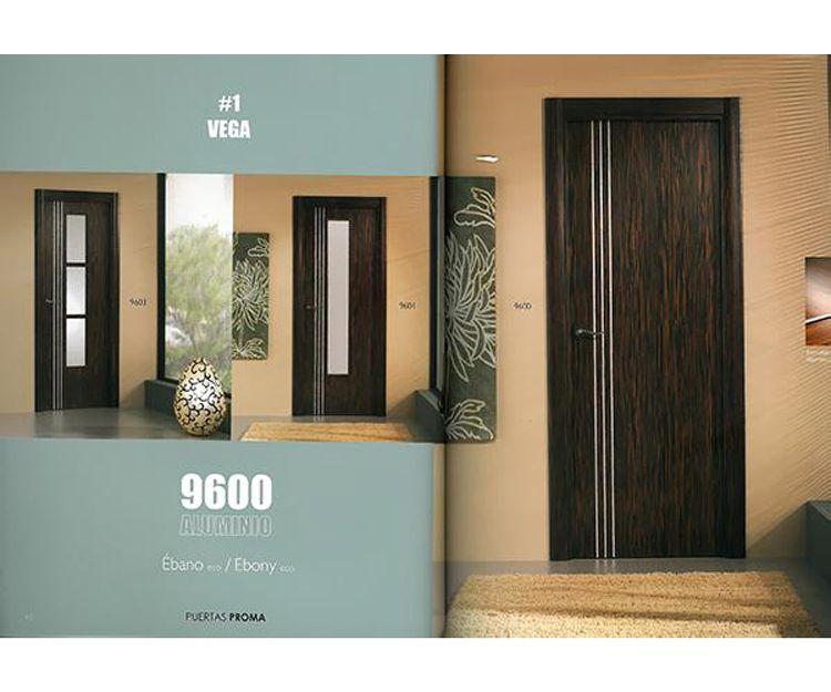 Puertas color ébano en Asturias