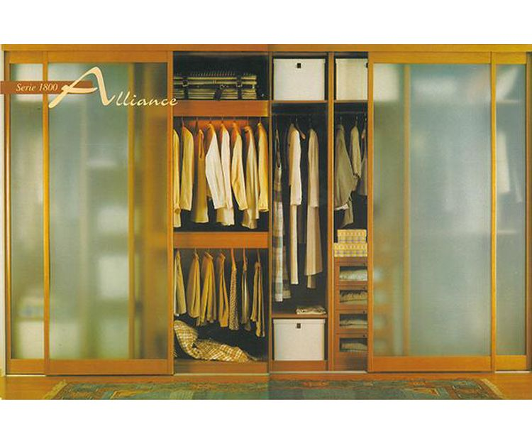 Frentes e interiores de armarios en Asturias
