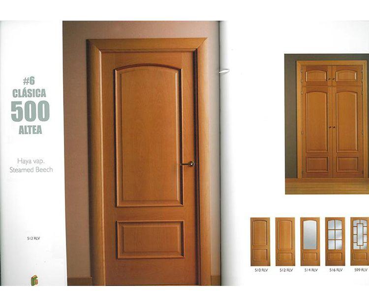 Puertas de interior color haya en Asturias