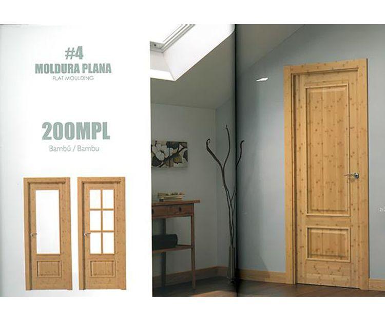 Puertas de moldura plana en Asturias