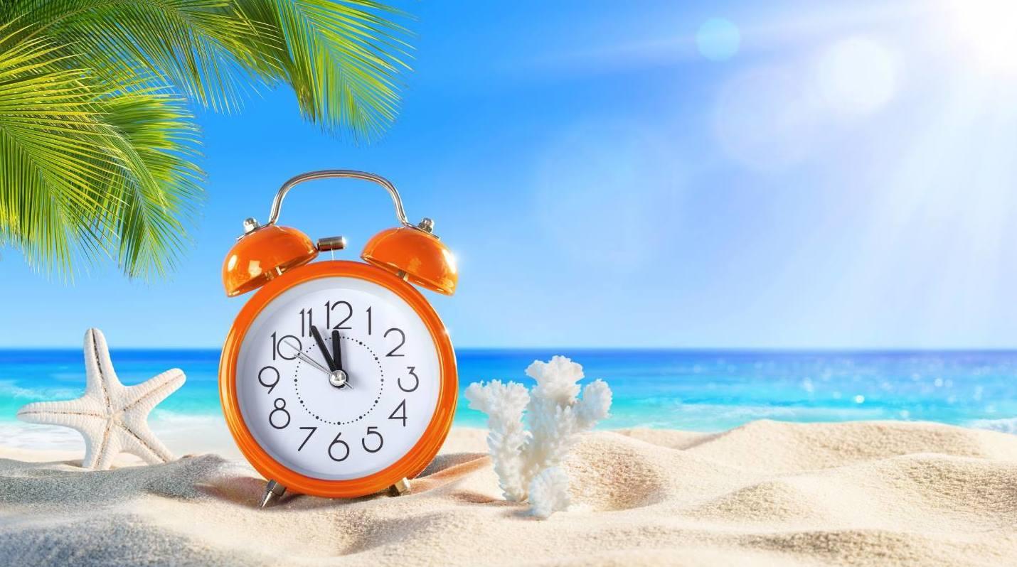 ¡Cambio a horario de verano!