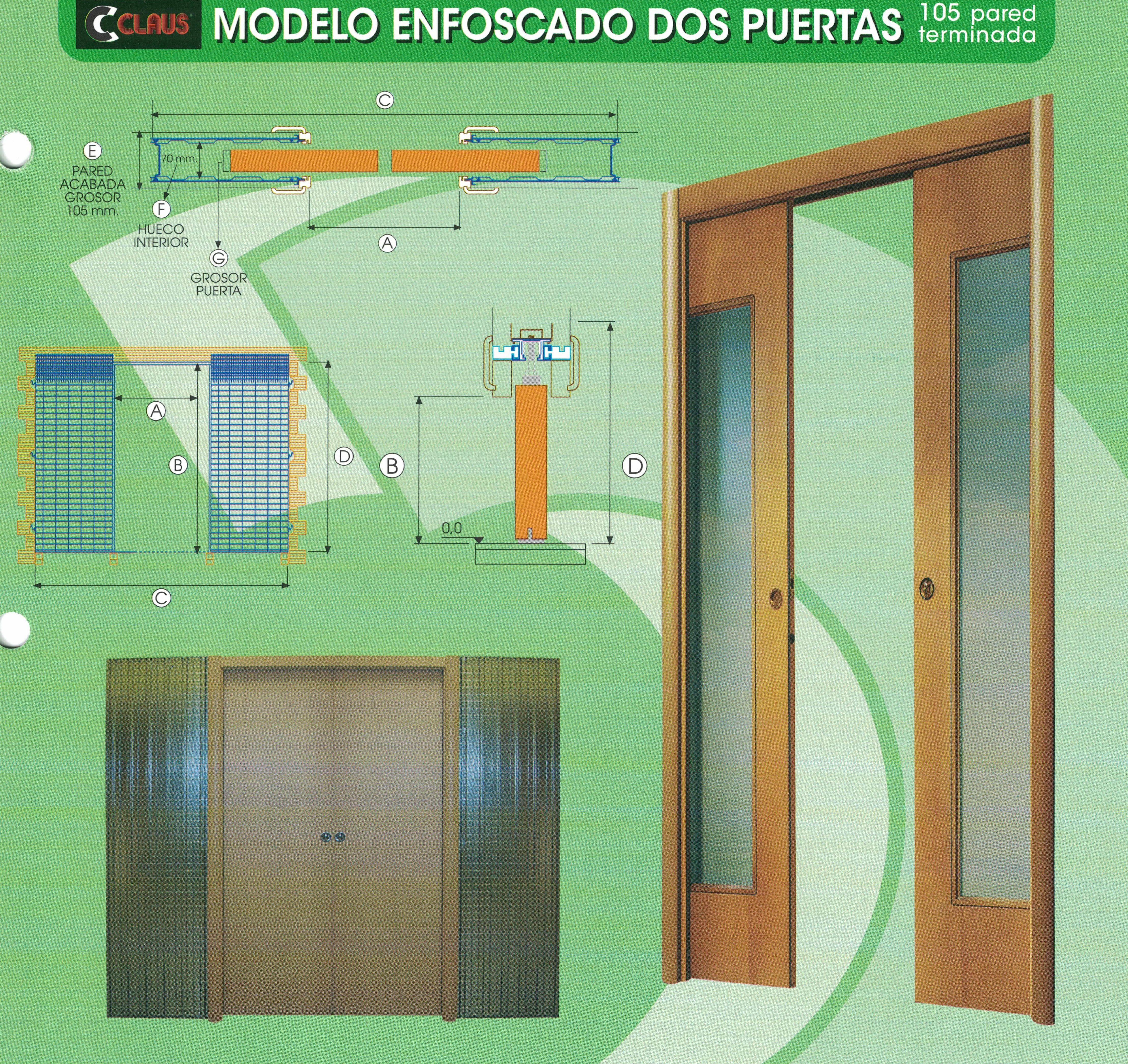 Casoneto enfoscado dos puertas: Productos y servicios de Depoceramic