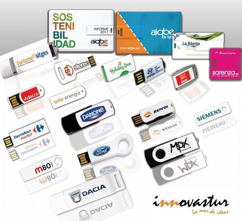 ESPECIALISTAS EN MEMORIAS USB PERSONALIZADAS
