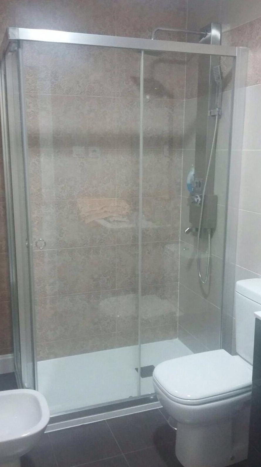 Mamparas de baño Fuenlabrasa