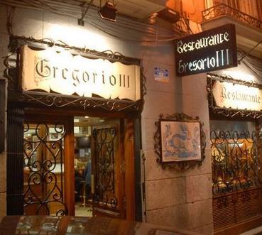 Restaurantes en el centro de Madrid