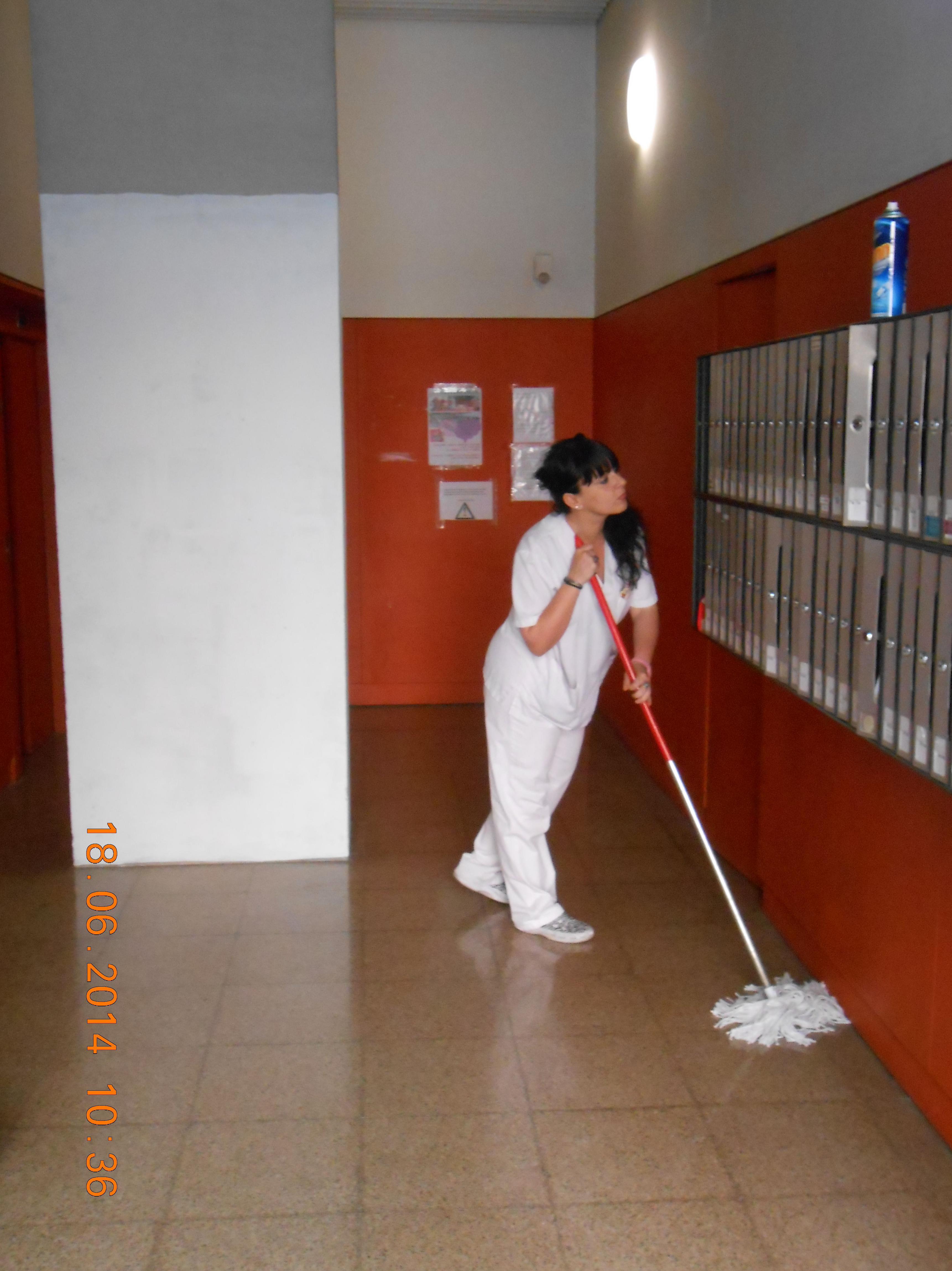Limpieza de comunidades y locales.