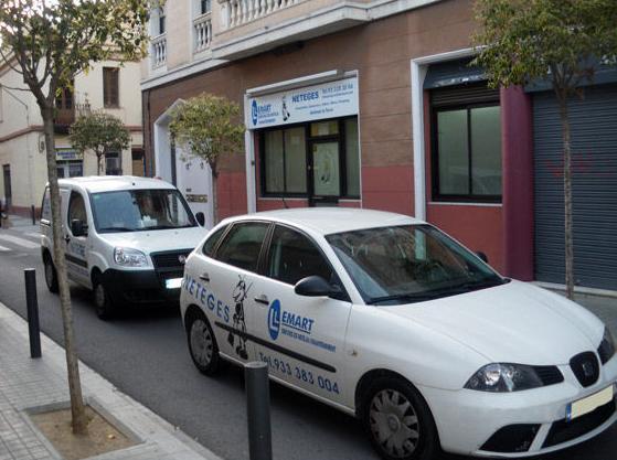Sede central en Hospitalet de Llobregat