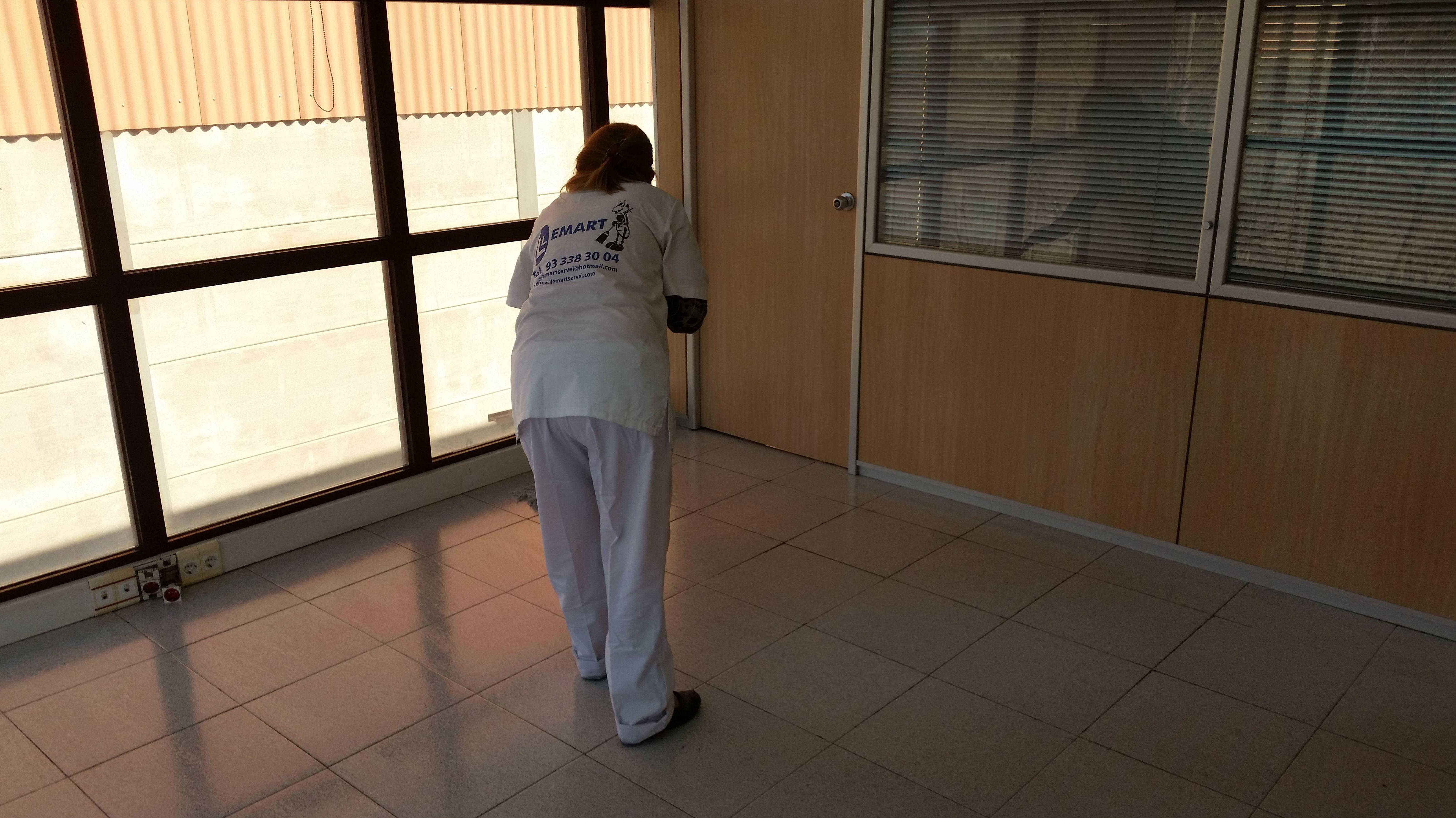 Foto 9 de Limpieza (empresas) en L'Hospitalet de Llobregat | Llemart Servei, S.L.
