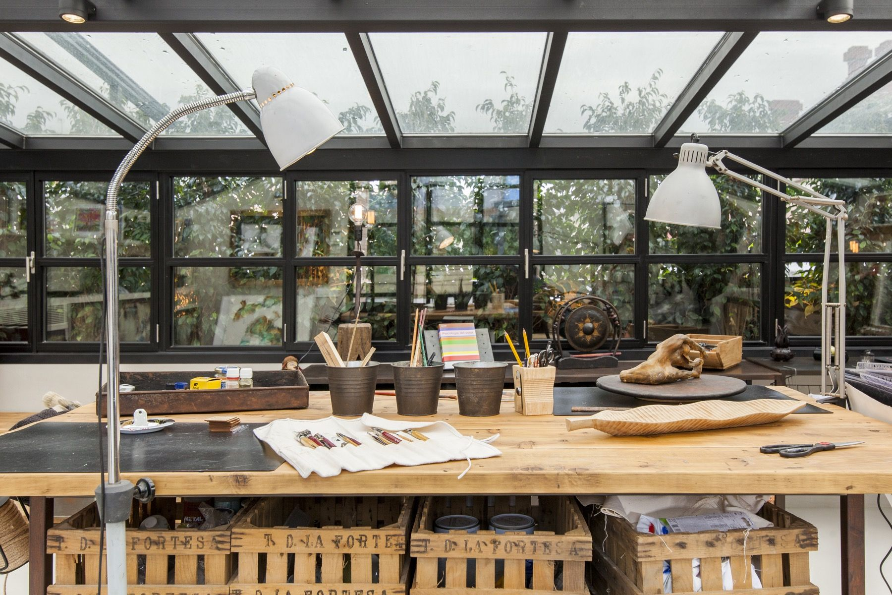 Atelier. Oficina: Proyectos de Interiorismo Miriam Barrio