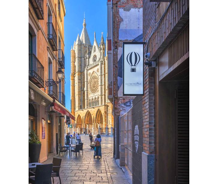 Globetrotter Urban&Hostel al lado de la Catedral de León