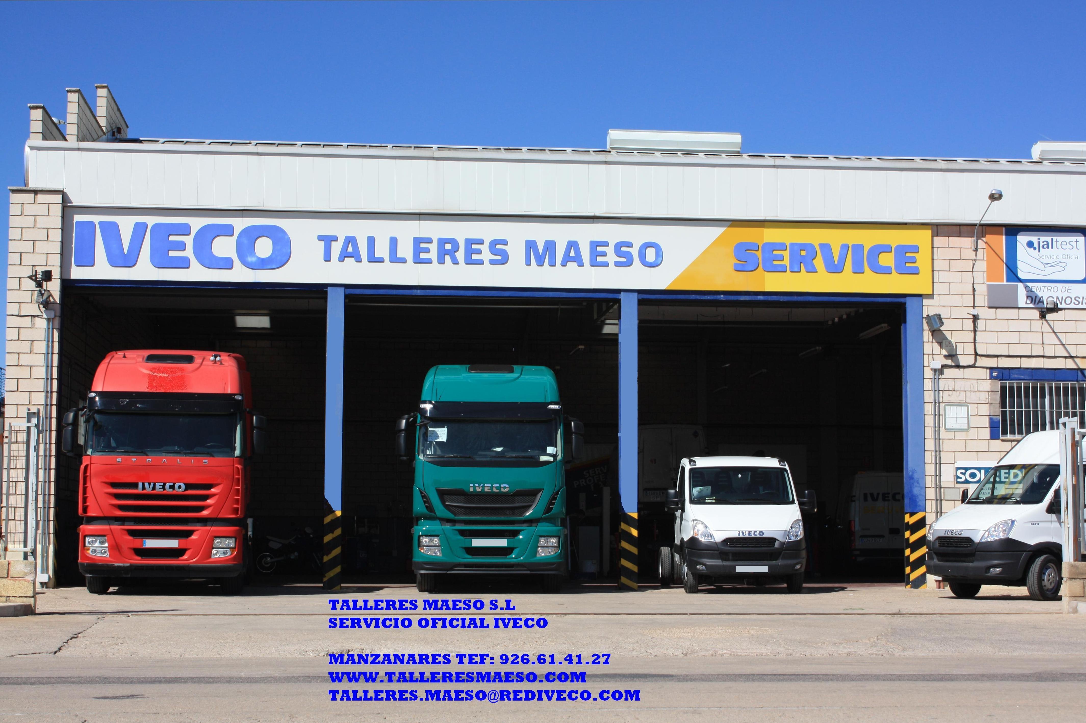 Foto 1 de Talleres de automóviles en Manzanares | Maeso Jareño, S.L.