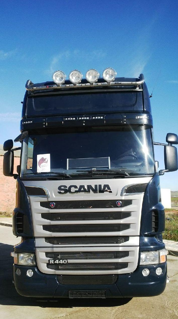 Scania R440 Topline 09/2010 Suspensión neumática integral