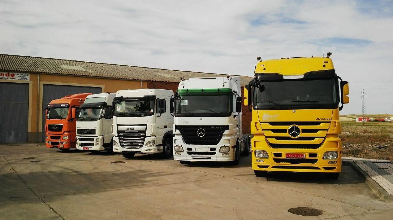 Foto 28 de Camiones en Villares de la Reina | Autotruck Salamanca