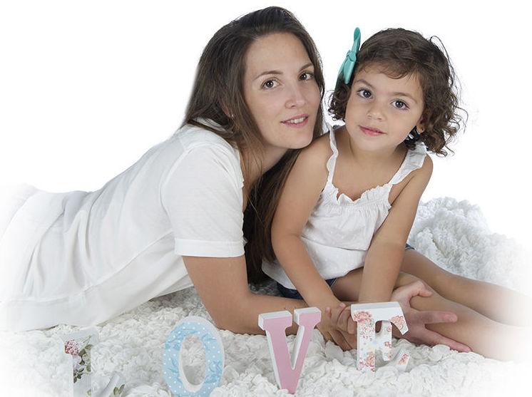 Itziar y su mamá