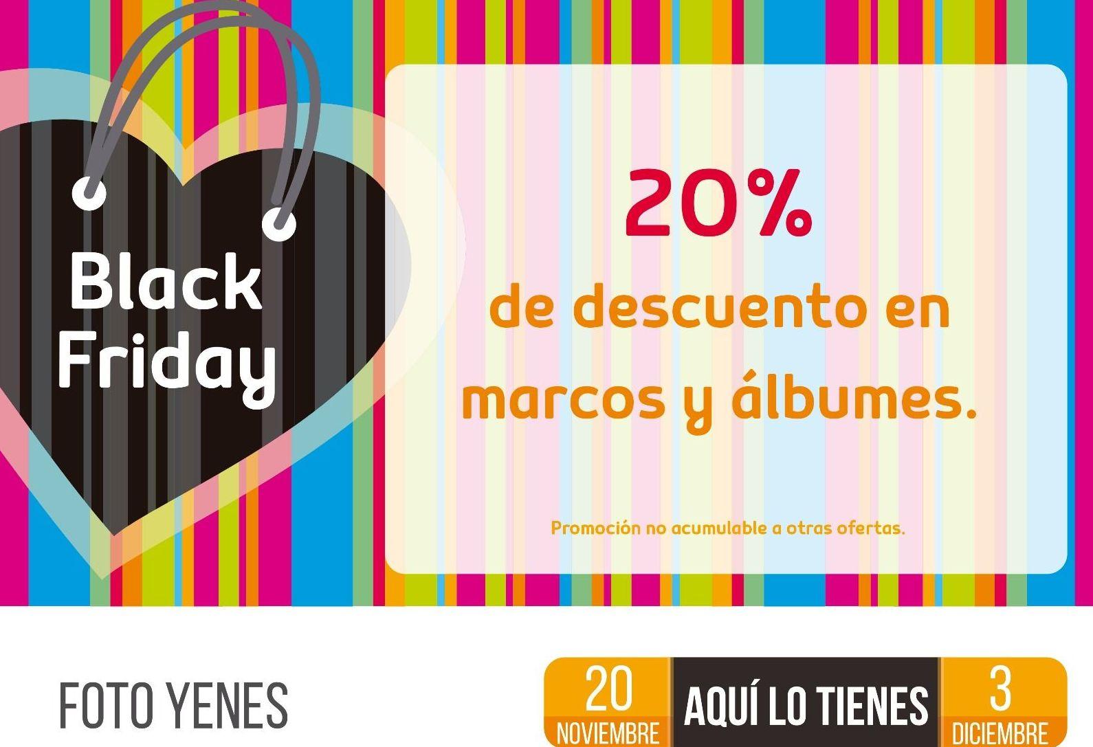 DOS SEMANAS DE BLACK FRIDAY... ¡APROVECHA LOS DESCUENTOS!