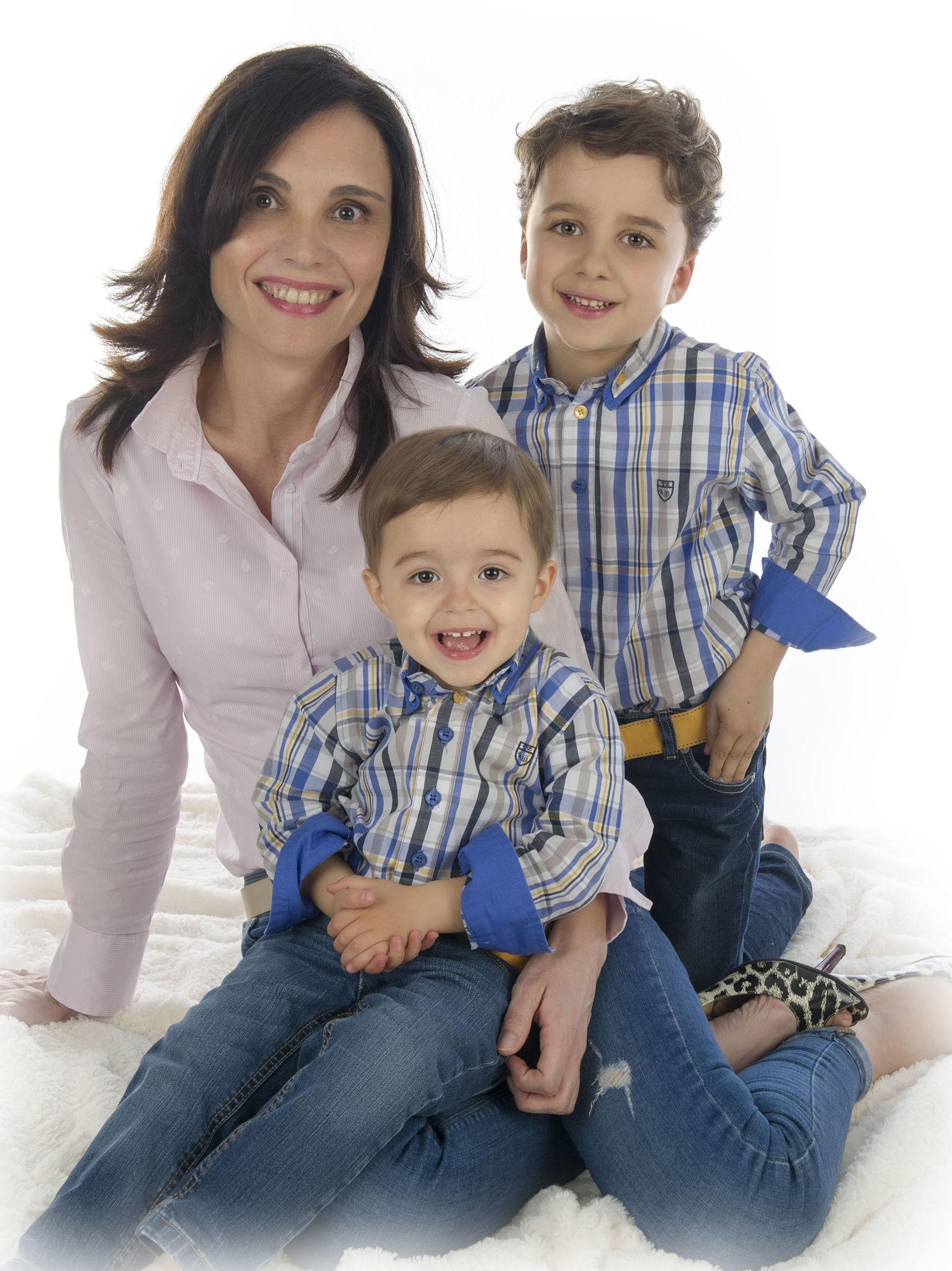 Dario, Jacobo y su mamá