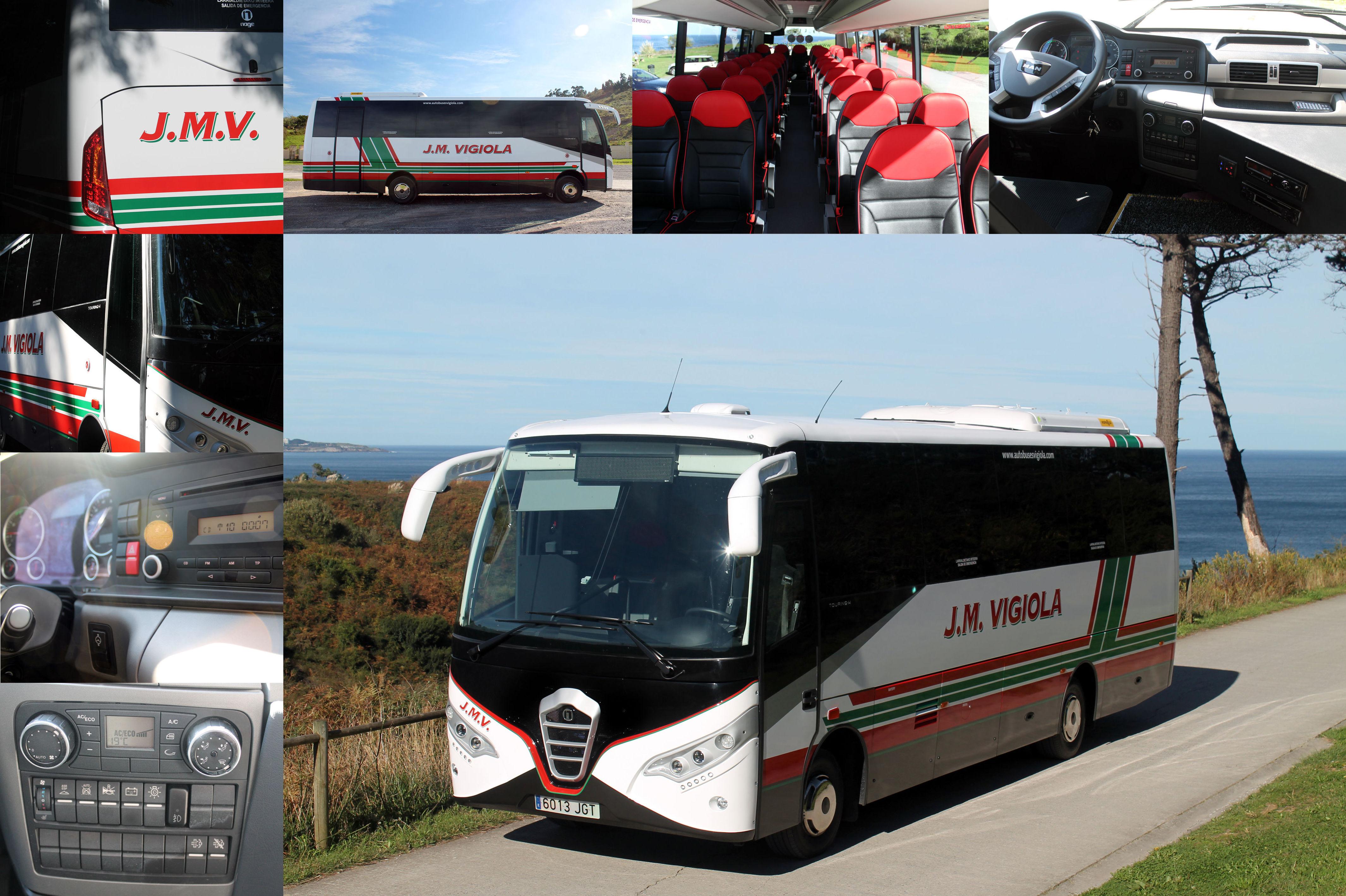 Foto 5 de Autobuses en Abanto Zierbena | J. M. Vigiola