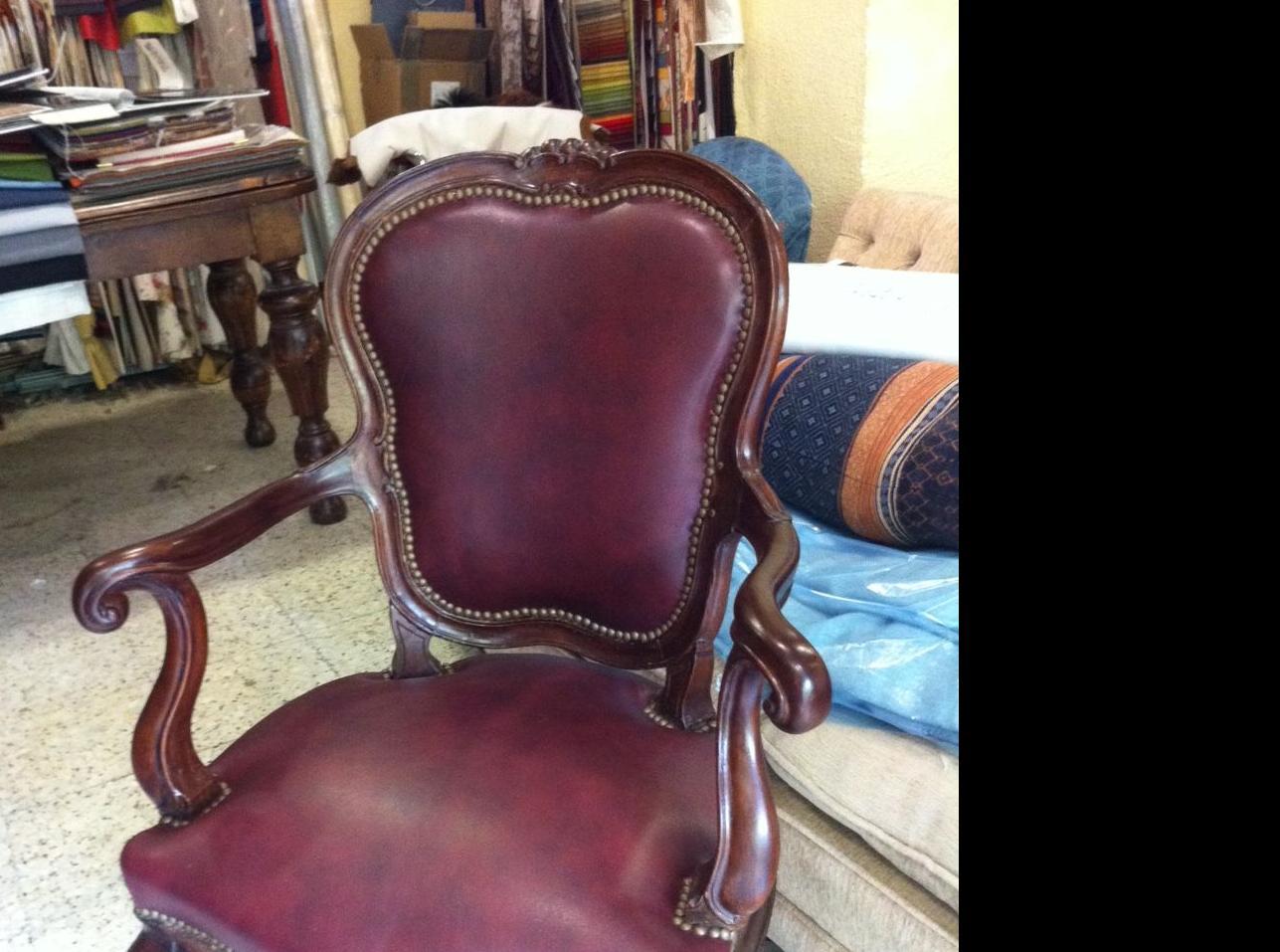 Fabricación de sillas