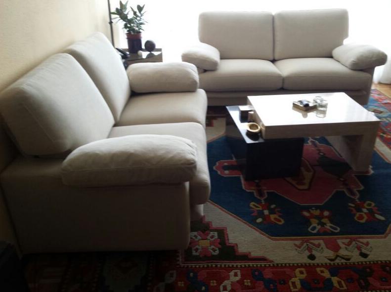 Fabricación de sofás para salón