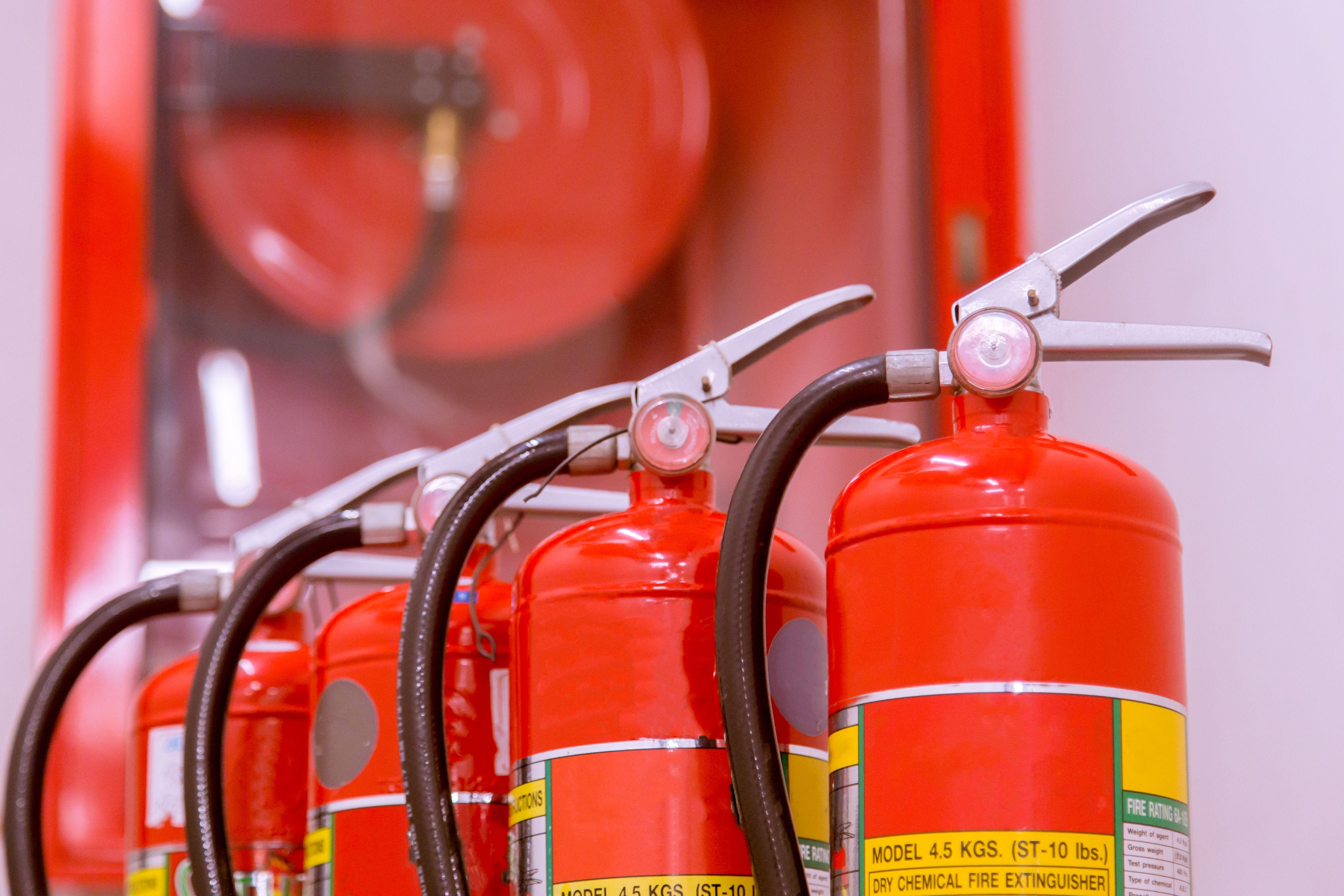 Extintores en Madrid