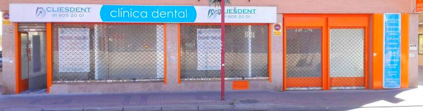 Cliesdent se traslada a calle Leganés 33, Parla