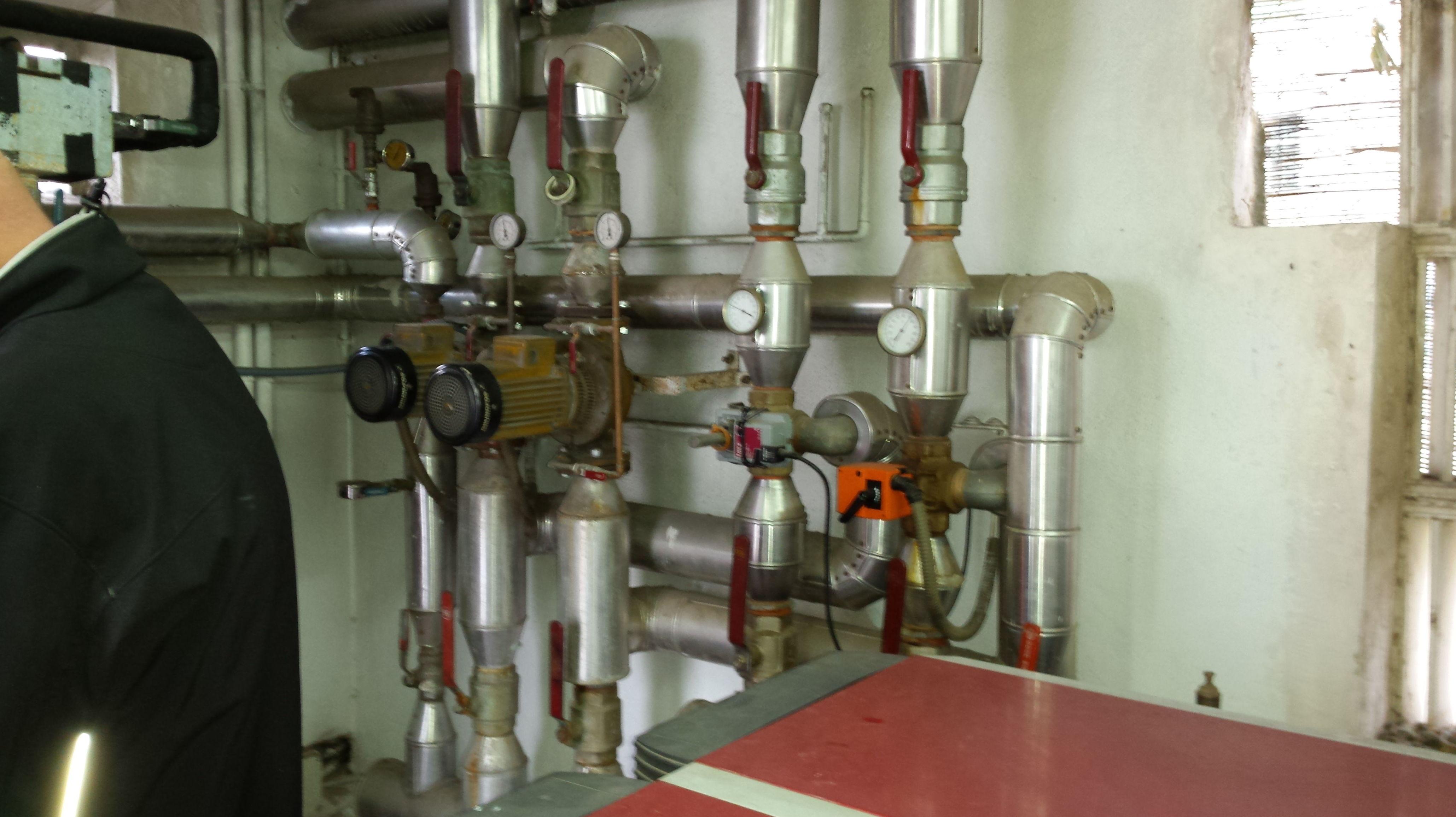Producción de calor C.N.P.