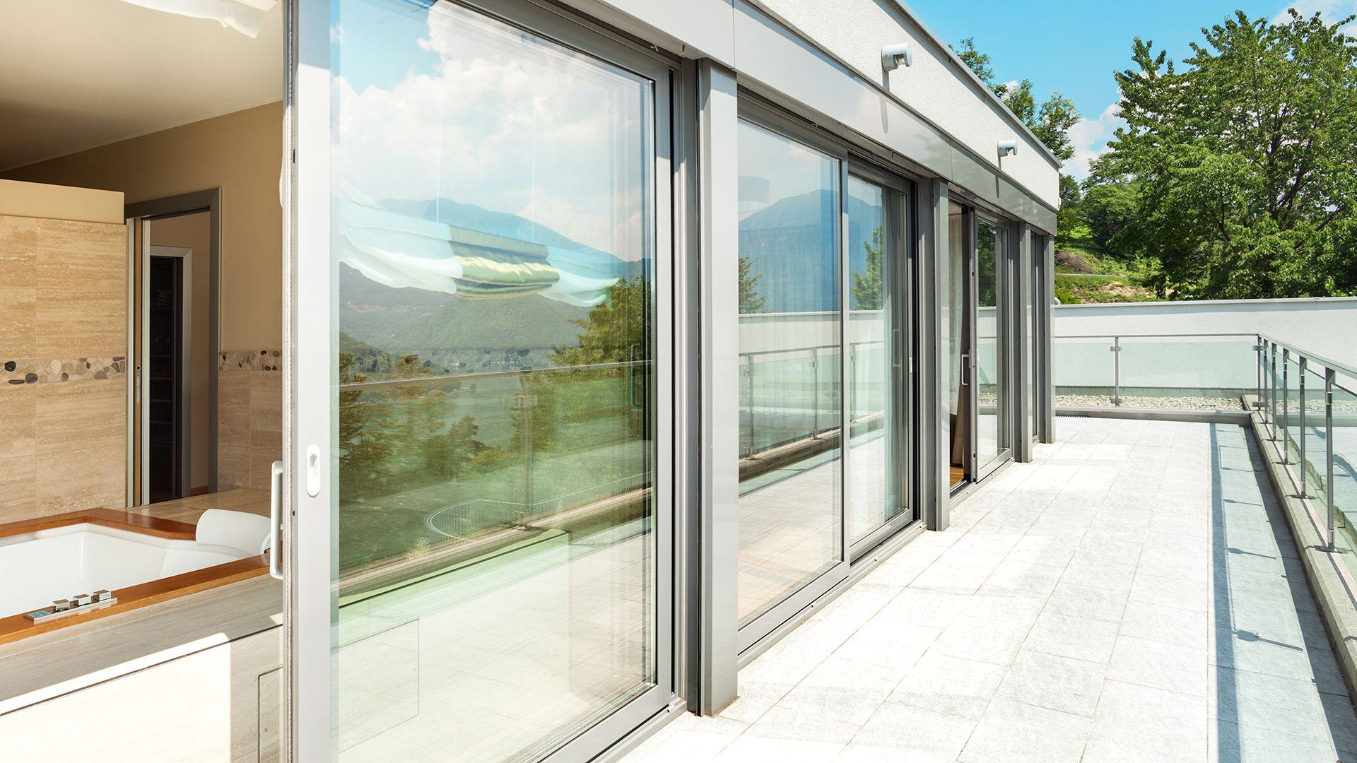 Cerramientos terrazas aluminio Gijón