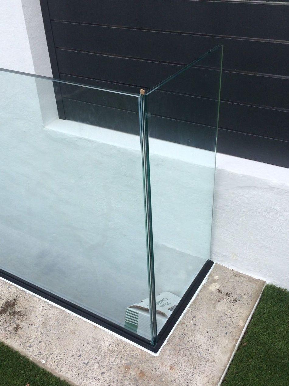 Barandilla en cristal