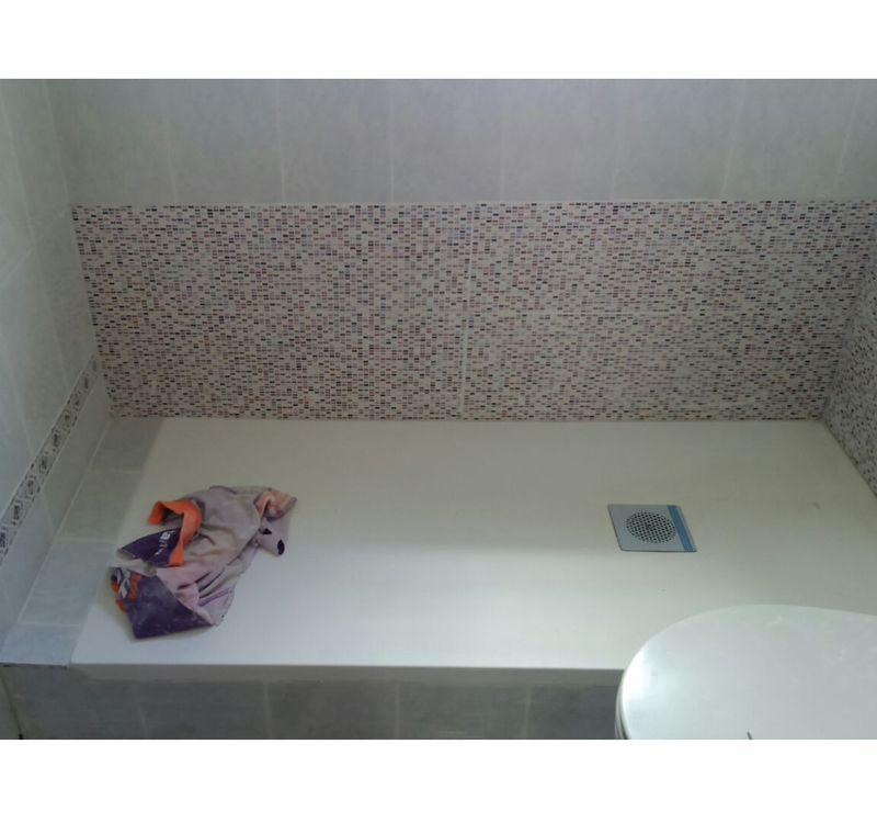 Cambio de bañera por plato de resina