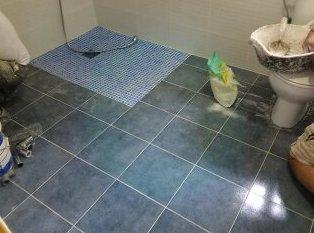 Ampliación de baño para minusválido