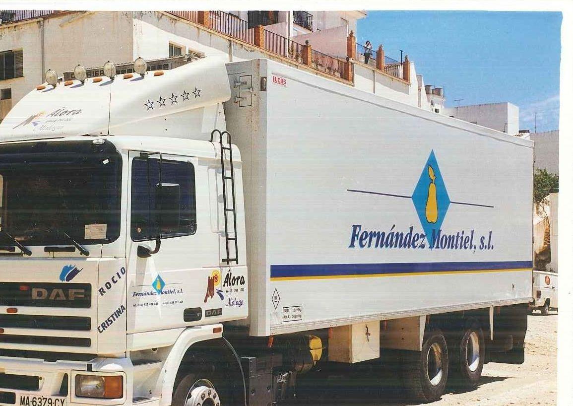 Foto 4 de Transporte de frutas y verduras en Málaga   Grupo Montiel Logística