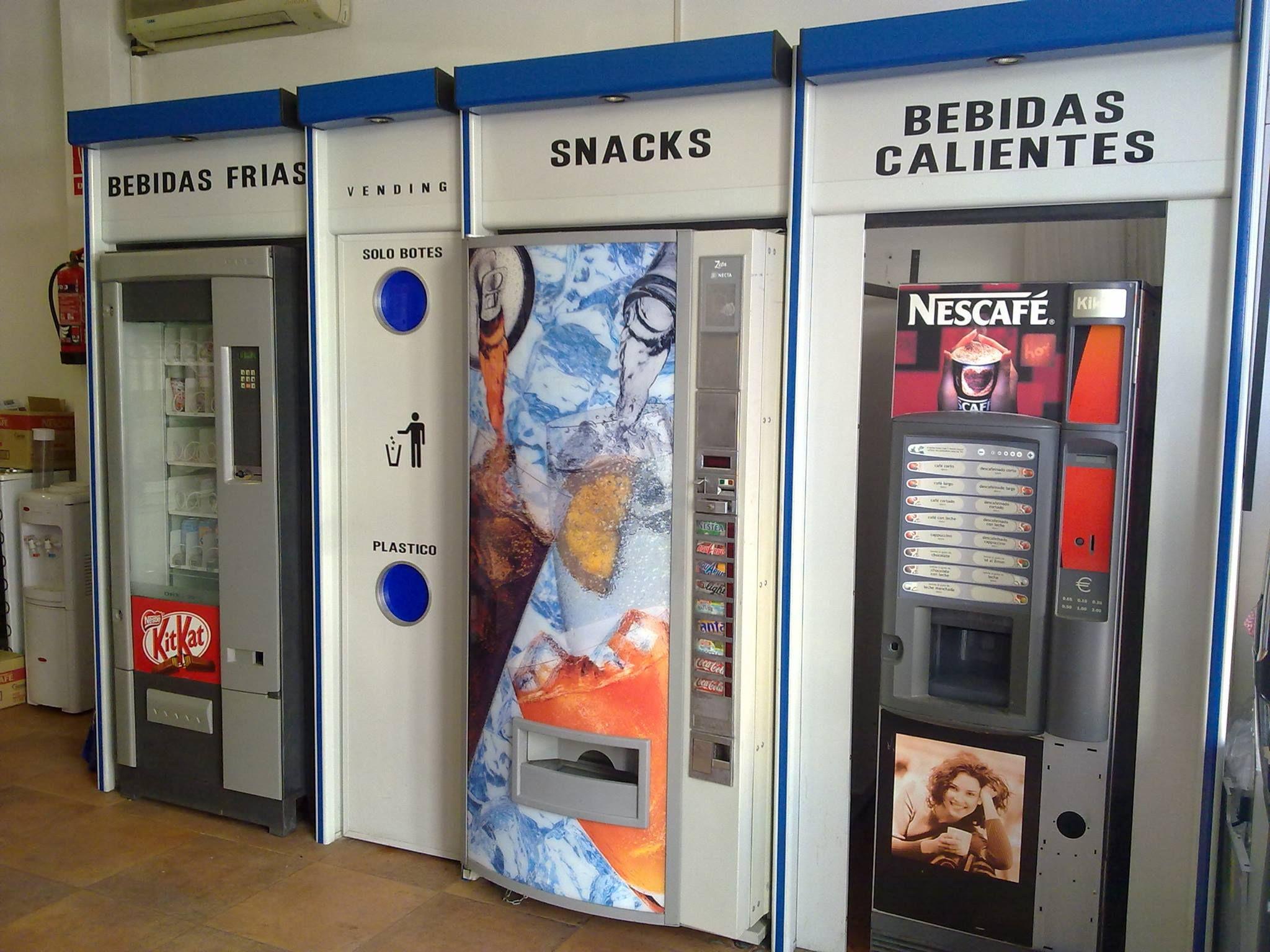 Máquinas vending de ocasión en Granada