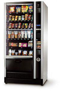 Aperitivos y alimentación en máquinas Vending en Granada