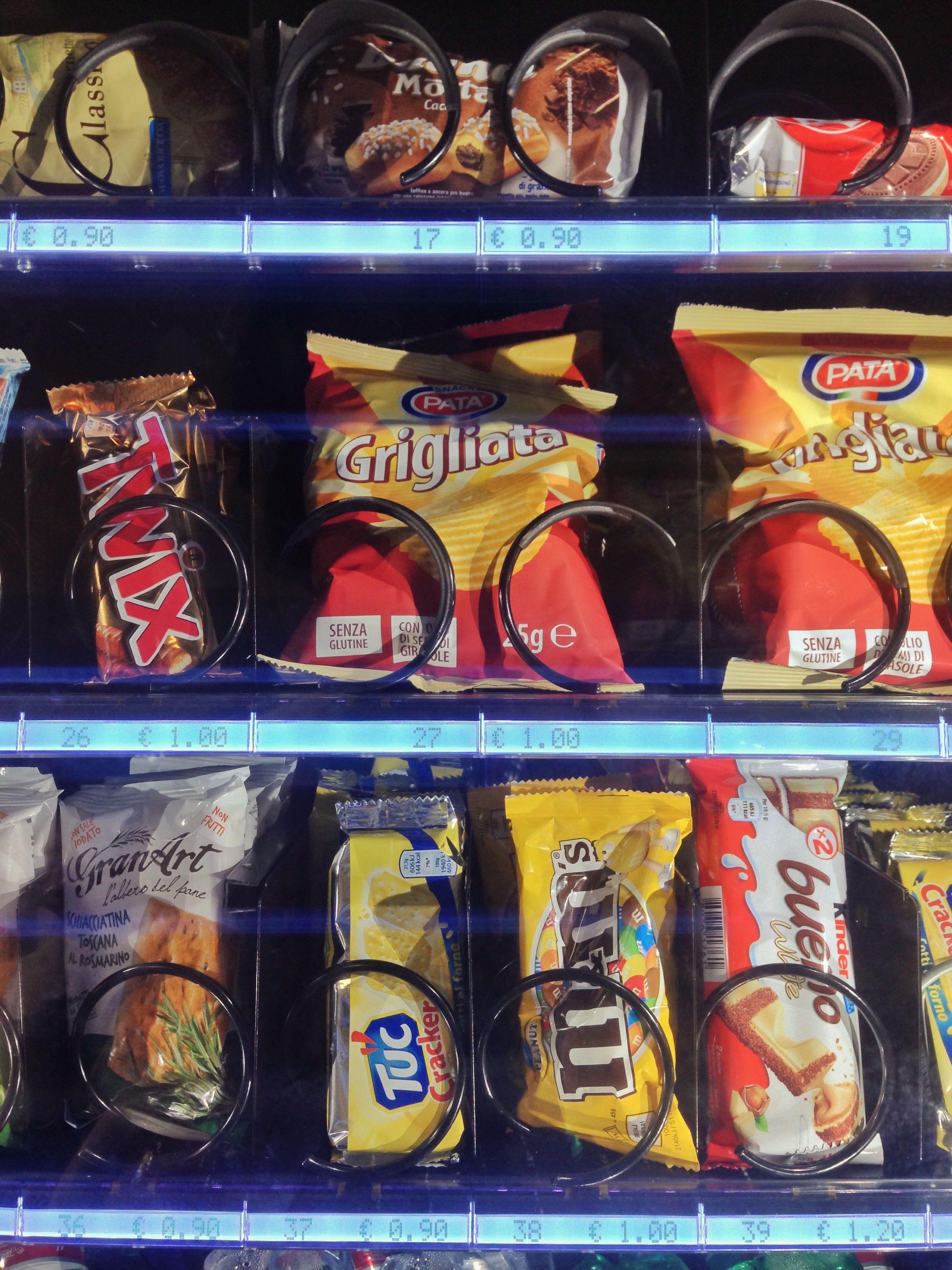 Snack & Food: Máquinas Vending de Servigra Alja