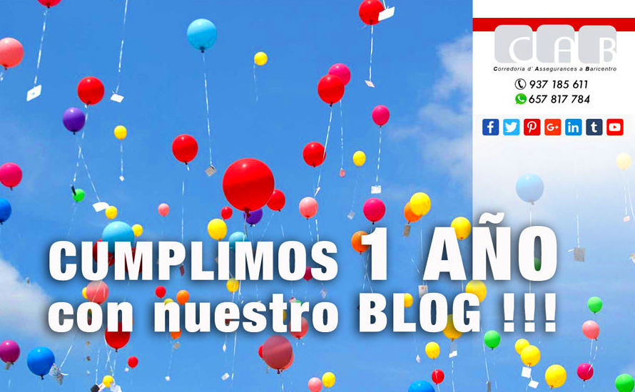El primer año con nuestro blog !!