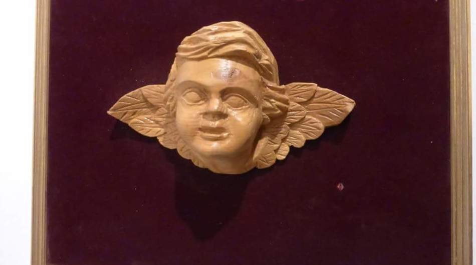 cabeza de angel