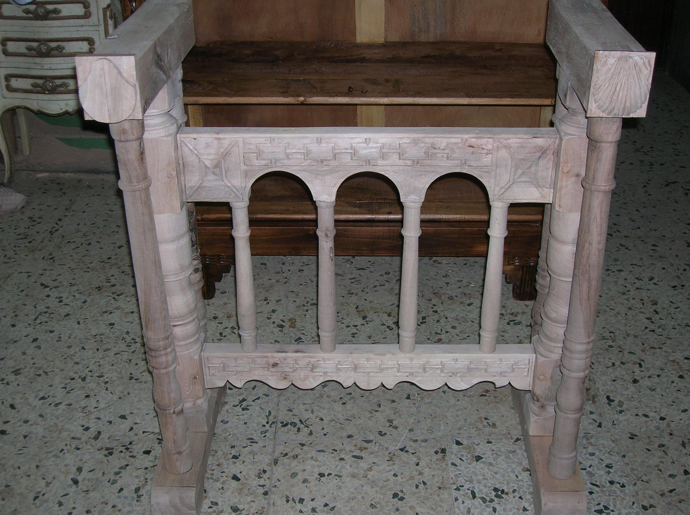 mesa puente de bargueño del SXVI