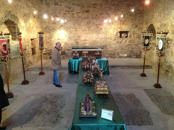 exposicion de mis tronos en Astorga LEON este año