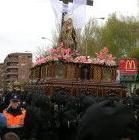 trono acabado procesionando